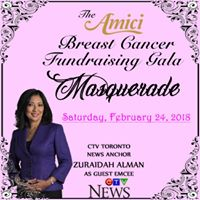 The Amici Breast Cancer Fundraising Gala Masquerade