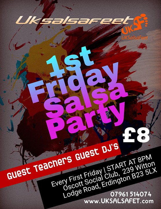 1st Friday Salsa Party
