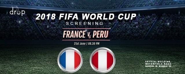 2018 FIFA World Cup Screening France vs Peru