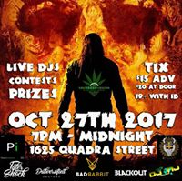 Second Annual Haunted Halloweed Bash