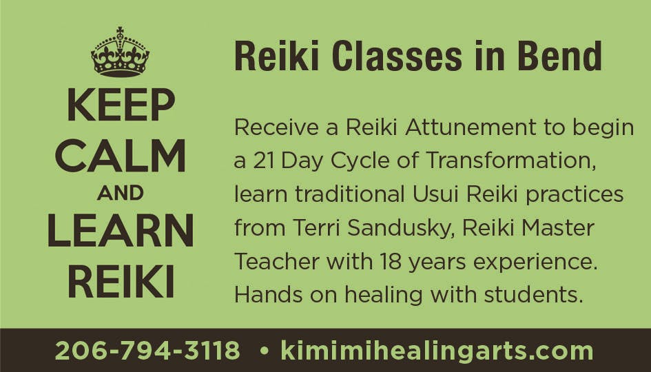 Reiki 2 Class With Symbols For Distance Healing At Kimimi Healing