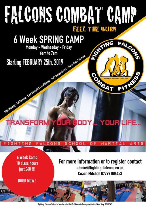 Falcons Combat Fitness Spring Boot Camp