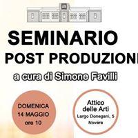 Seminario di Post Produzione Avanzata