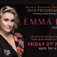 2018 Program Launch featuring Emma Pask with Kevin Hunt