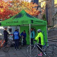 Pop-up Cycle Hub