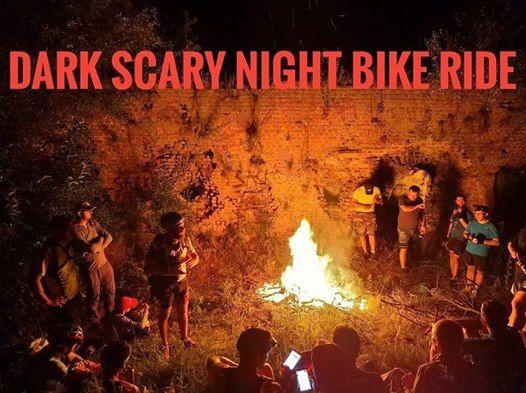 Dark Scary Night Bike Ride 2019