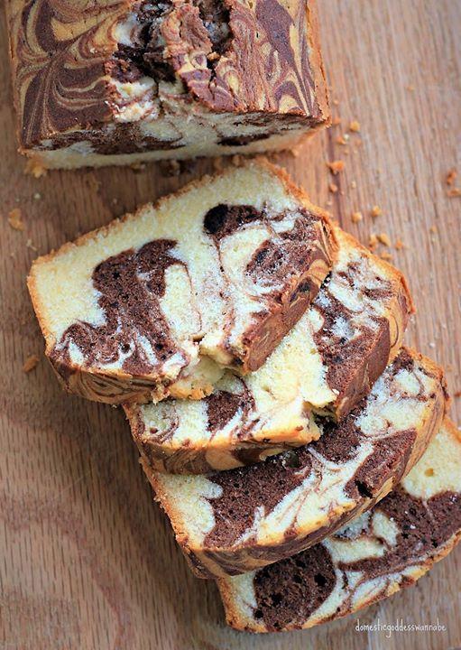 Hands-on Sara Lee-Inspired Vanilla Dark Chocolate Swirl Pound Ca