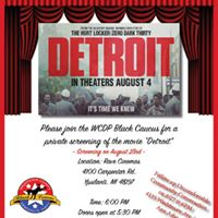 Private screening of the movie Detroit