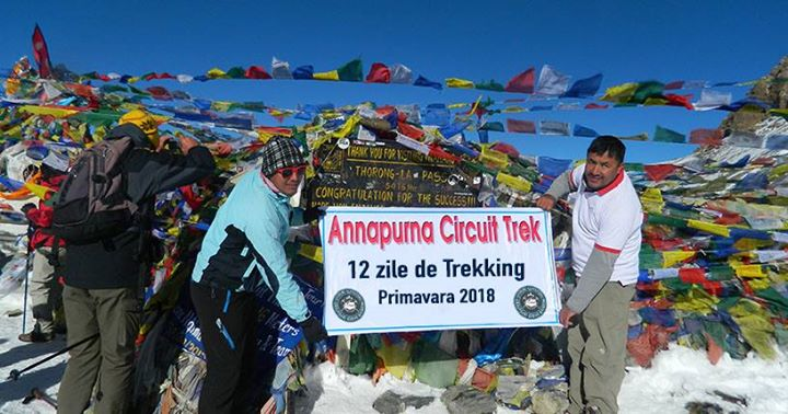 Annapurna Base Camp Circuit 12 Zile
