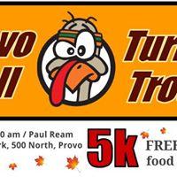 Provo Trail Turkey Trot 5k