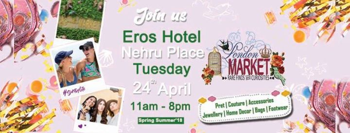 London Market at Eros Hotel Nehru Place New Delhi