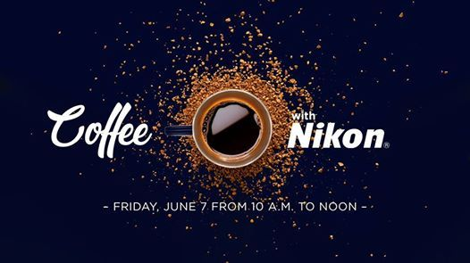 Coffee with Nikon: Free Coffee, Firmware Updates, and More! at