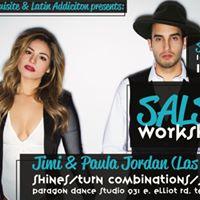 Salsa On 2 Workshop with Jimi &amp Paula
