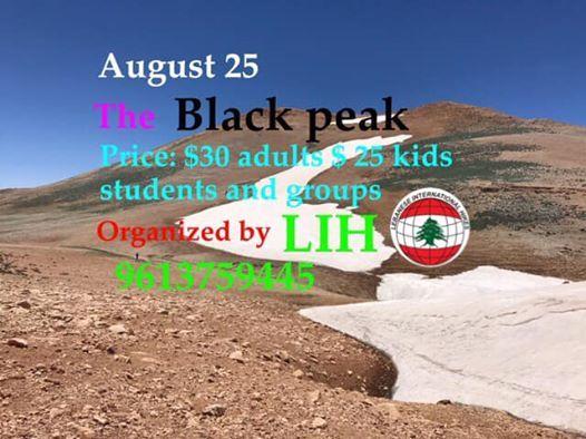 The Black peak LIH