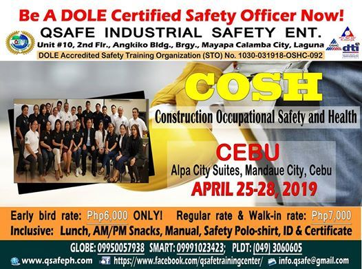 Construction Occupational Safety And Health DOLE At Alpa