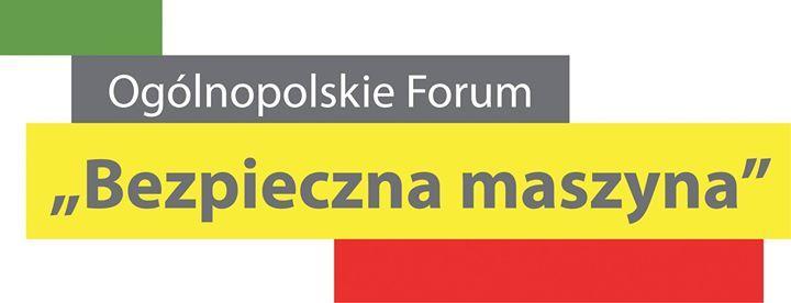 Oglnopolskie forum Bezpieczna Maszyna