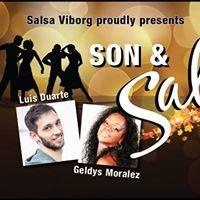 Son &amp Salsa  5 workshops dinner dress up party