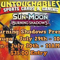 PKMN Burning Shadows Prerelease