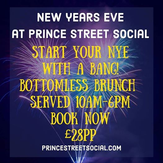 New Years Eve Bottomless Brunch