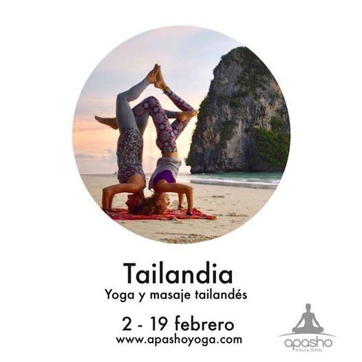 Tailandia. Yoga y Masaje Tailands
