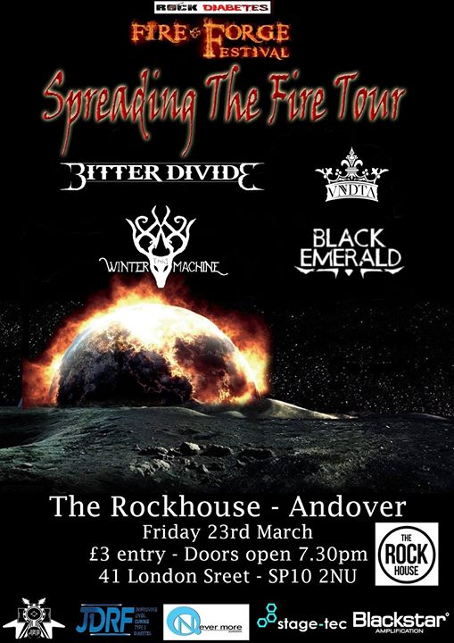 Fire & Forge Festival - Spreading The Fire Tour - Andover