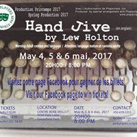 Hand Jive by Lew Holton - May 45 6 2017