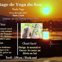 Stage de Yoga du son et de la voix  Nice