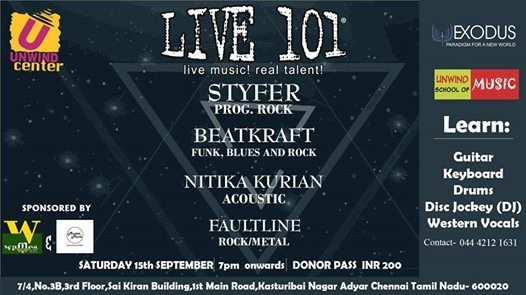 LIVE 101- 15th September
