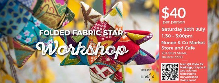 Folded Fabric Star Workshop