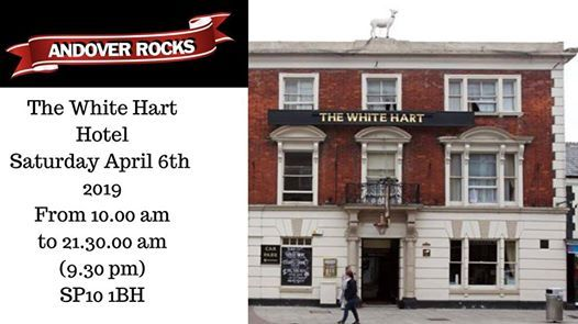 Andover Rocks at The White Hart April 6th 2019