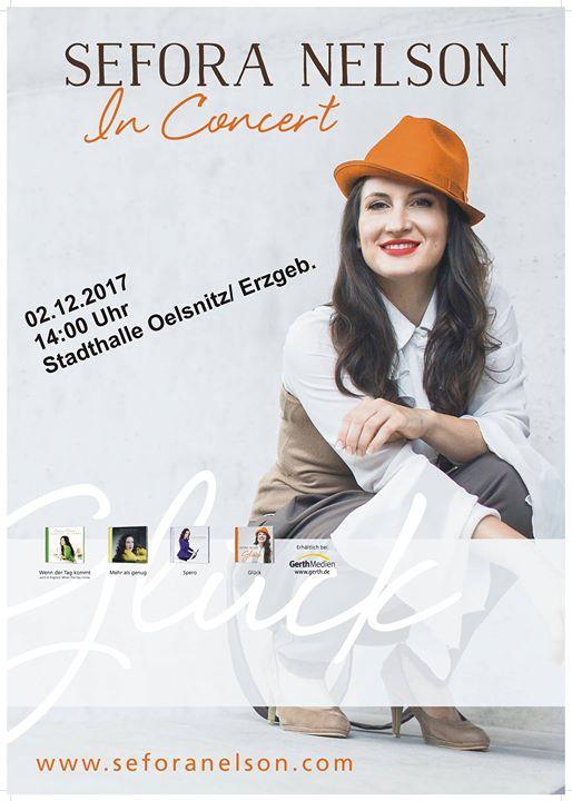 Konzert Mit Sefora Nelson At Stadthalle Oelsnitz Erzgeb