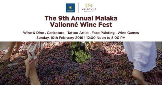 The 9th Annual Malaka Vallonne Wine Fest
