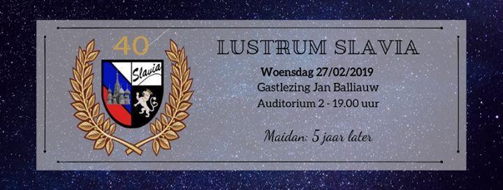 Lustrum Slavia Lezing Jan Balliauw