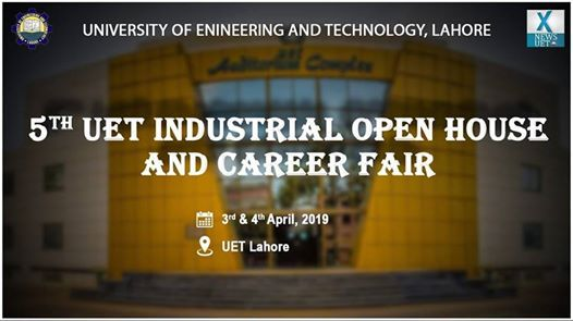 5th UET Industrial OPEN HOUSE and Career FAIR