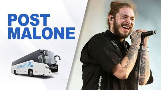 Bus to Post Malone  3Arena (Feb 14th 2019)