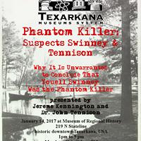 Phantom Killer Suspects Swinney & Tennison
