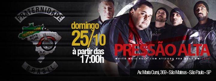 e2d38eb1436a9 BANDA PRESSÃO ALTA NO FRATERNIDADE MOTO CLUBE at Fraternidade Moto ...