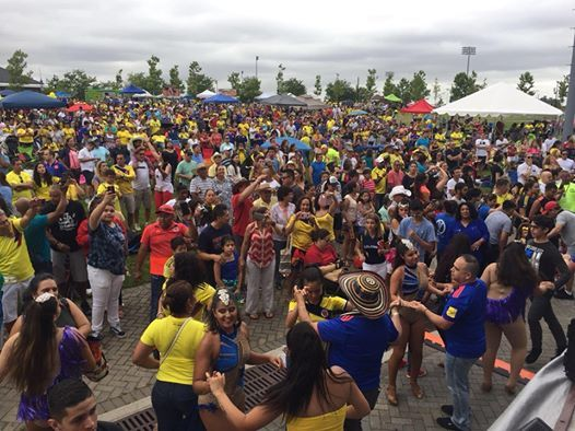 Festival Colombiano 2019 at Overpeck County Park, Leonia
