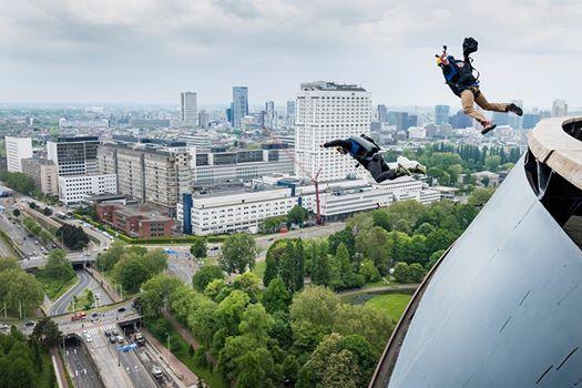 Euromast BASE jump event