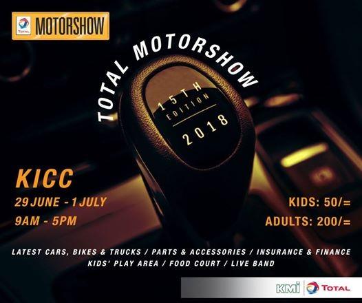 The 2018 Total Motorshow