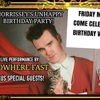 MORRISSEYS BDAY PARTY  FITZGERALDS IN HUNTINGTON BEACH CA