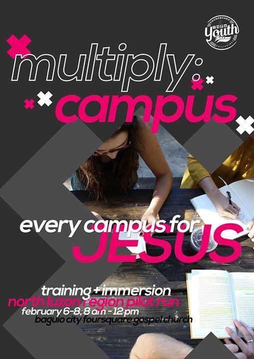 Multiply Campus - North Luzon Region Pilot