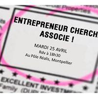 Soire Entrepreneur Cherche Associ