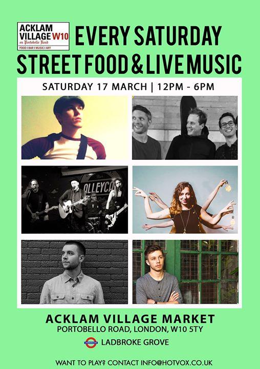 St Patricks Day Live Music at Acklam Village Market
