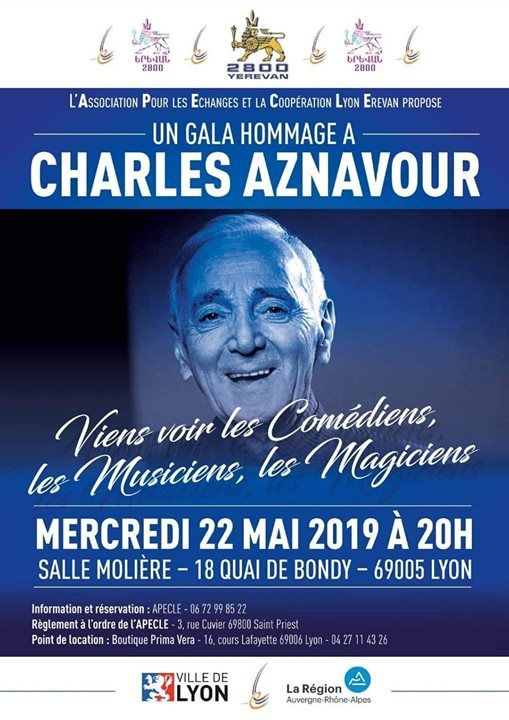 Gala Hommage  Charles Aznavour