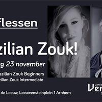 Nieuw in Arnhem proeflessen Brazilian Zouk