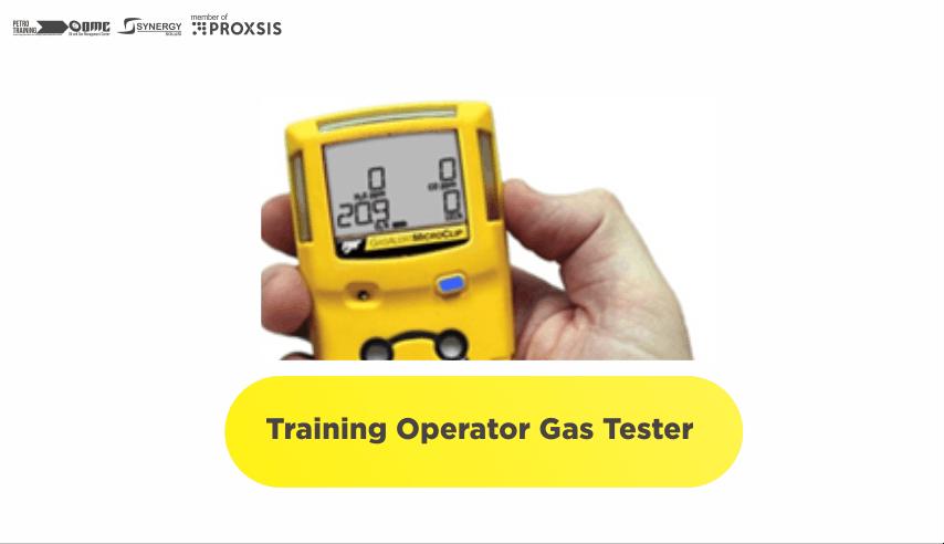 Training Operator Gas Tester