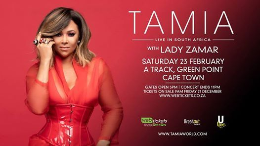 TAMIA Live in South Africa [Cape Town]
