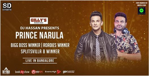Prince Narula Live in Bengaluru with our Gully Boy Dj Hassan