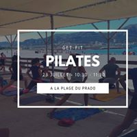 Get-Fit Pilates  la plage du Prado by Gecko Yoga